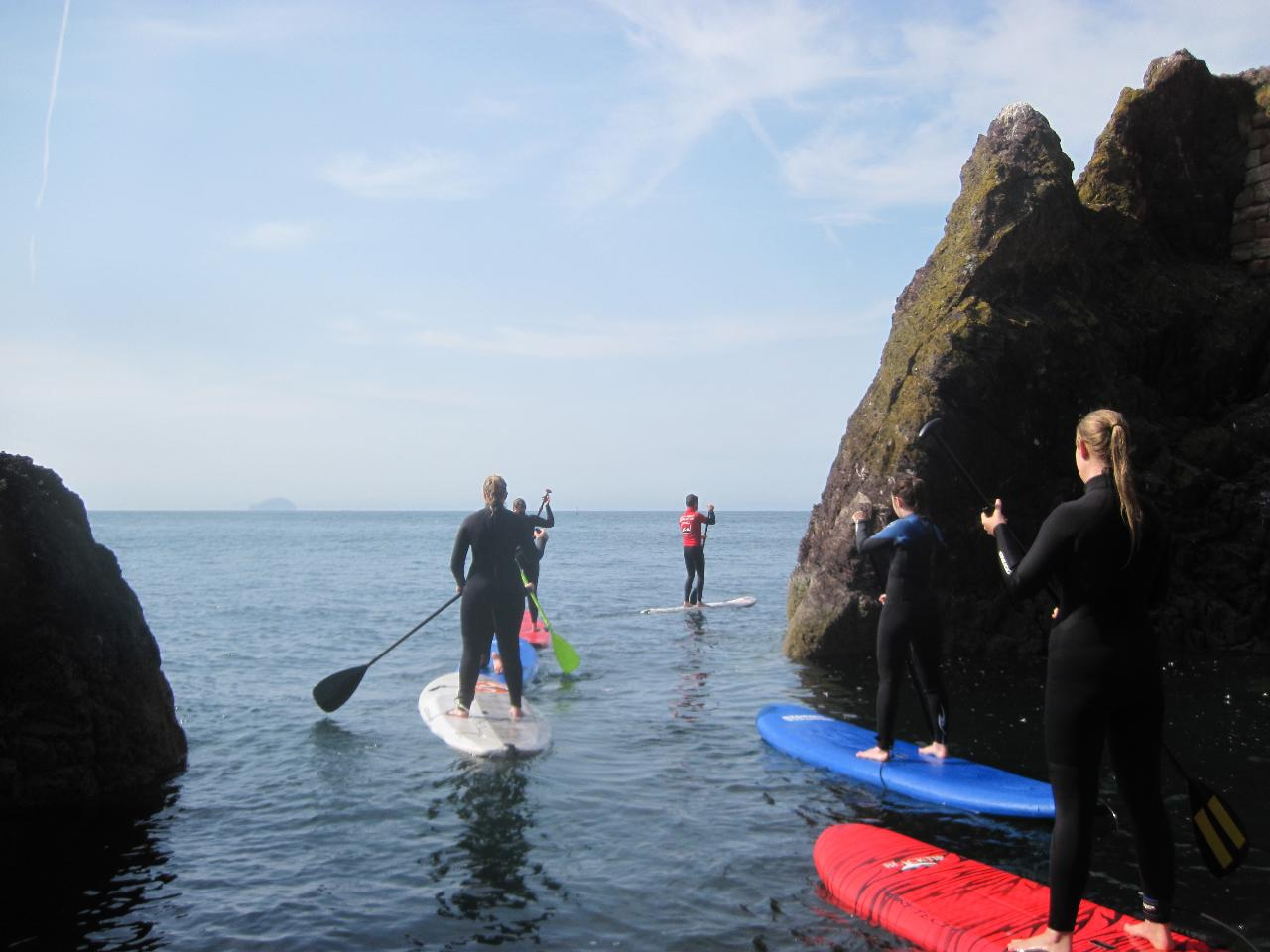 STAND UP PADDLE OPEN WATER