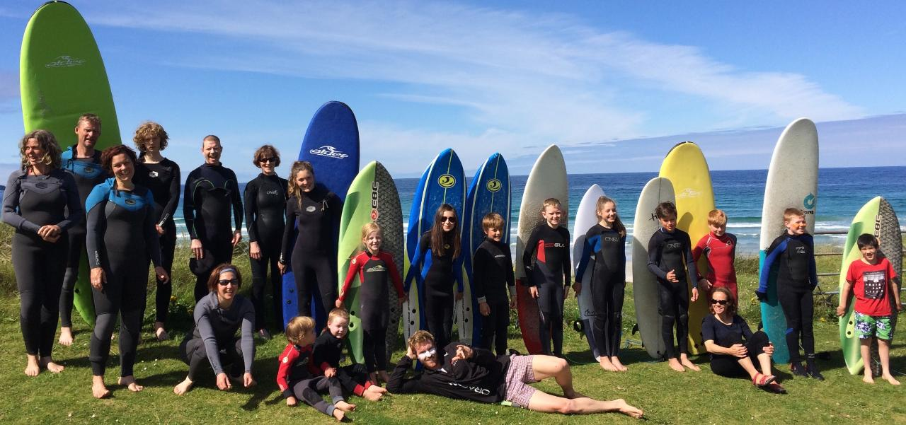 FAMILY SURF CAMPS (CAMPING)