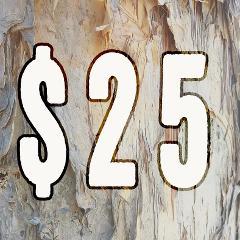 $25 Dollar Amount Gift Voucher