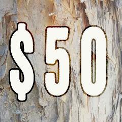 $50 Dollar Amount Gift Voucher