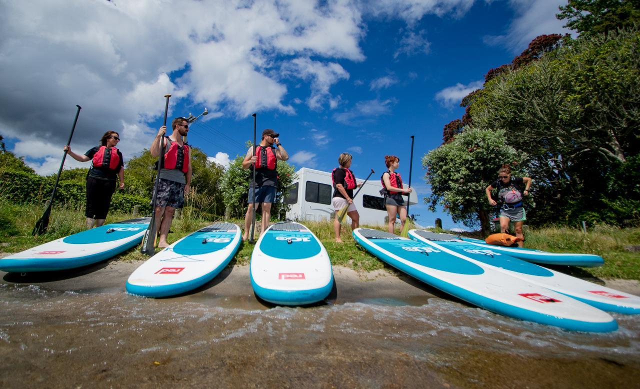 Paddleboarding - Ohau Channel