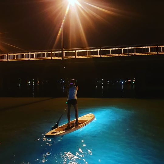 Night SUP