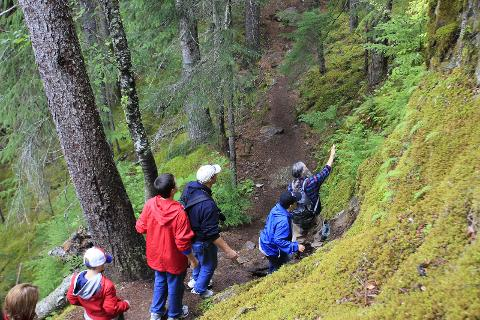 Chilkoot Trail Hike and Float Tour