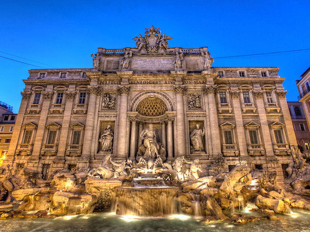 The Heart Of Rome at Night: Pantheon, Trevi Fountain and Spanish Steps photo 5