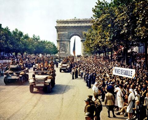 Paris in the Second World War Private Walking Tour