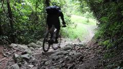 Escorted ride in Bukit Timah trails