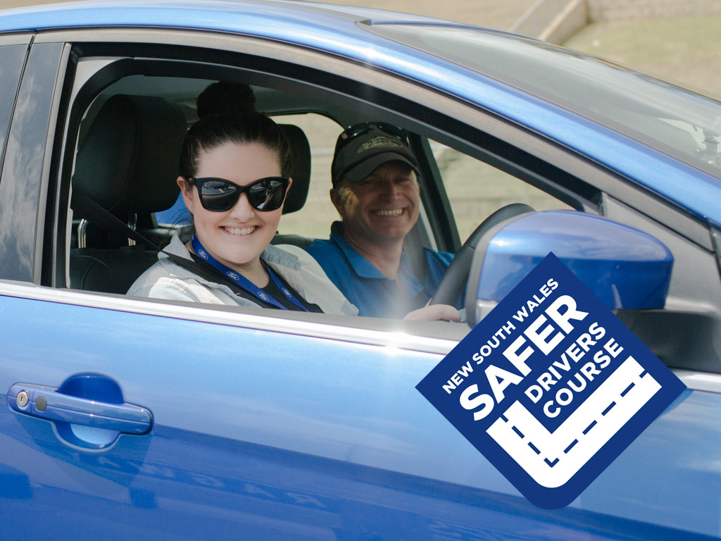 NSW SAFER DRIVER COURSE: MODULE 1 & 2 - STARTS 8.30AM FOR MODULE 1