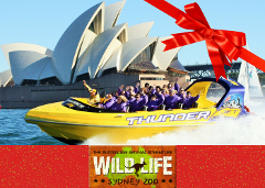 WILDLIFE SYDNEY + Thunder Twist Gift Card