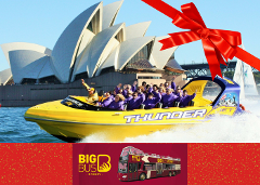 Sydney & Bondi Sightseeing & Thunder Twist Gift Card