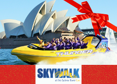 Sydney Tower Skywalk & Thunder Twist Gift Card