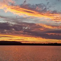 Noosa River Sunset on Wild One