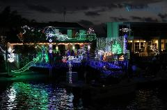 Christmas New Year's Lights Canal Cruise