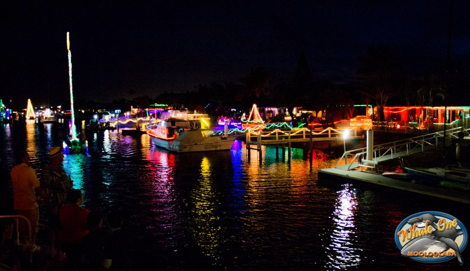 Christmas Lights and Sunset River Cruise