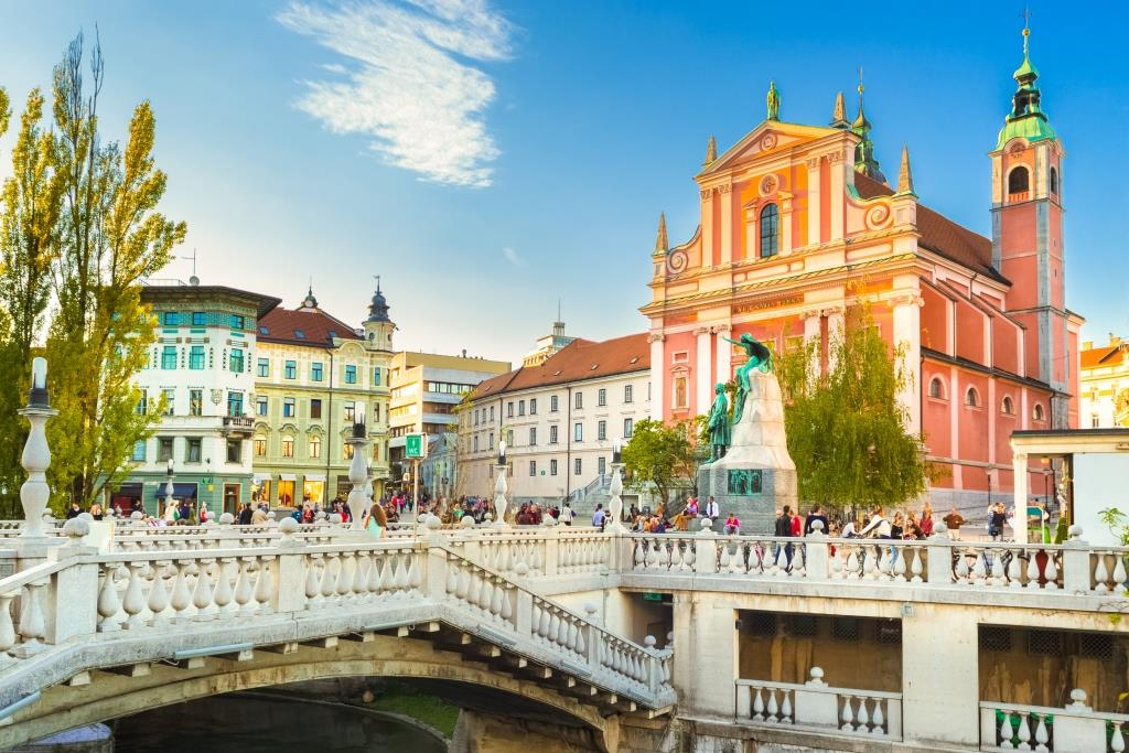 Enchanting Ljubljana and Lake Bled