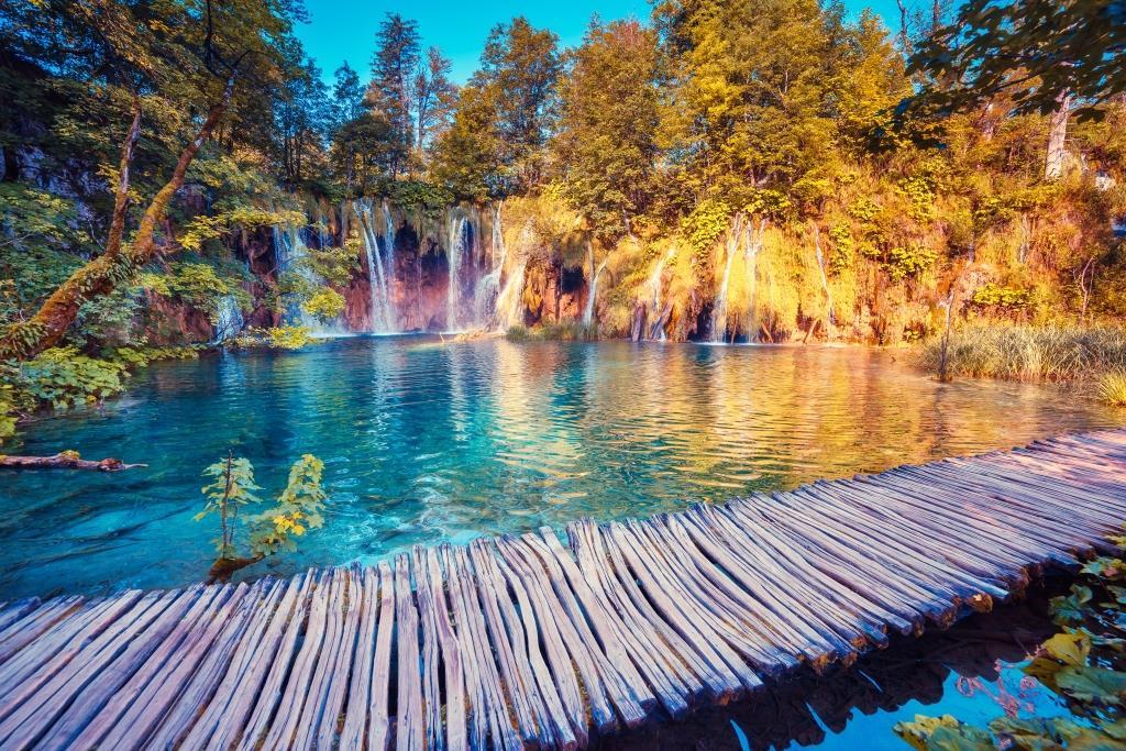 Stunning Plitvice Lakes and Rastoke