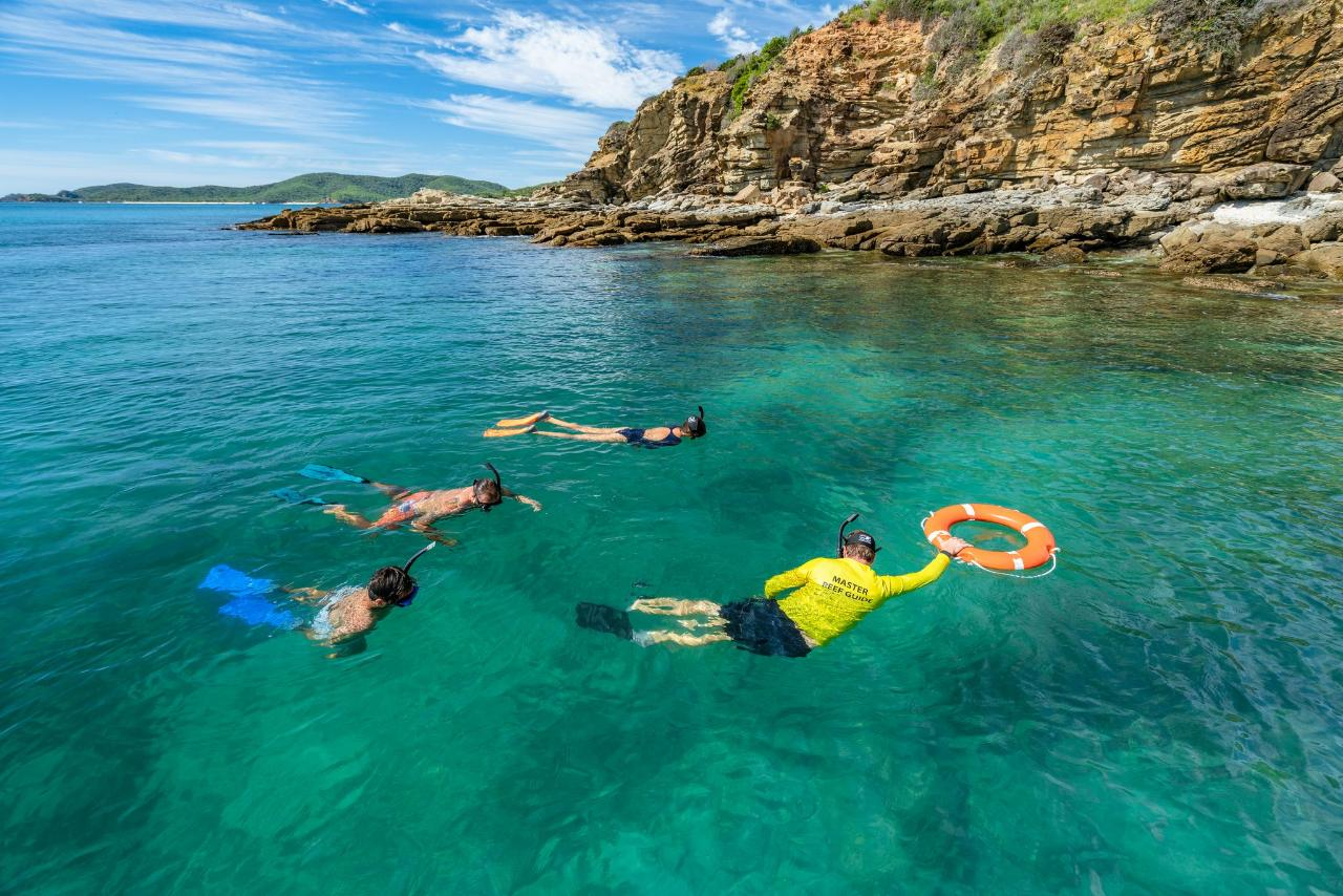 Guided Eco-Certified Snorkel Tour