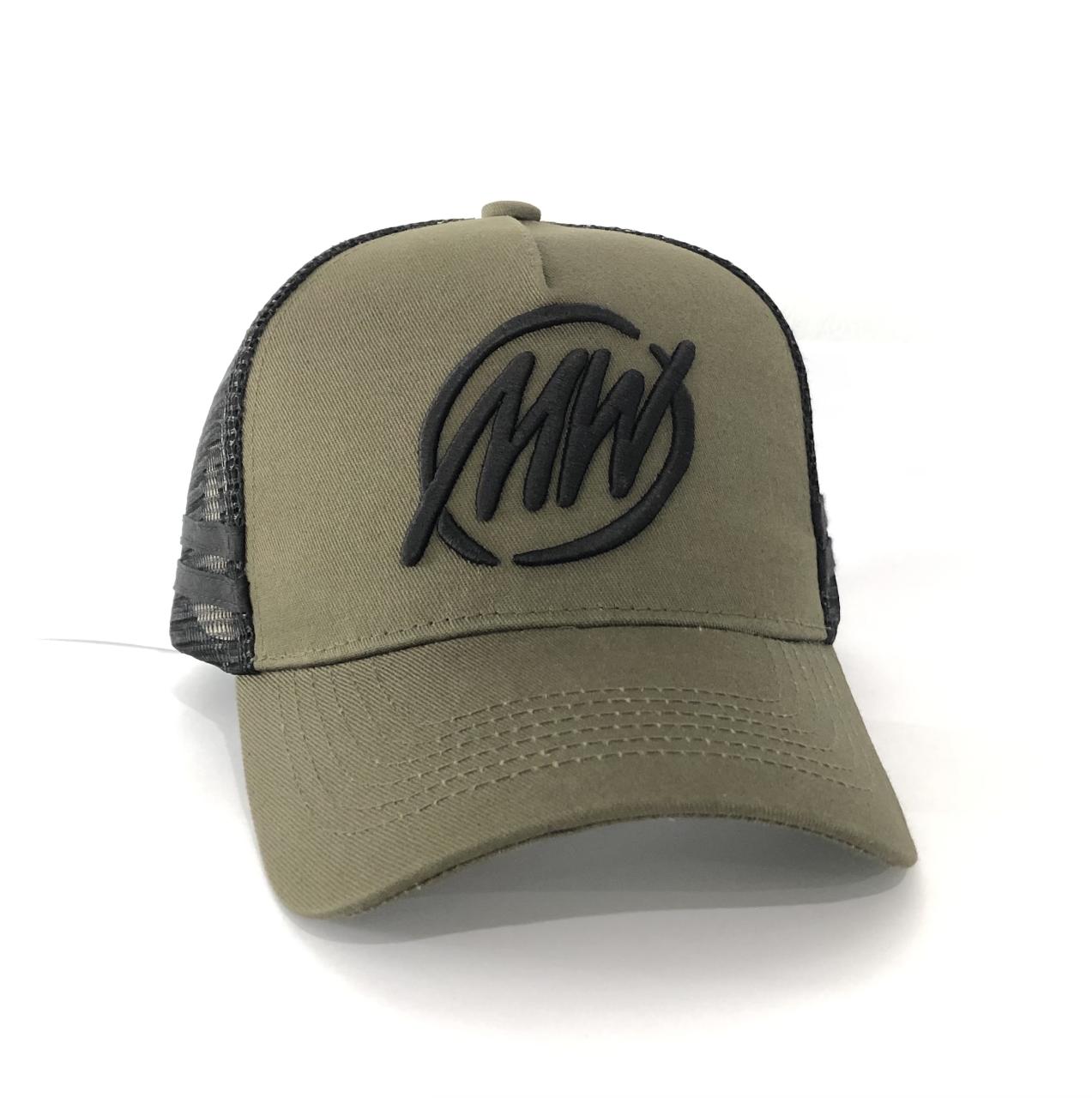 Matt Wright Olive Trucker Cap