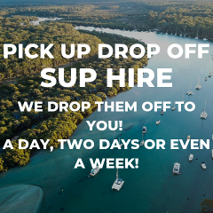 FULL DAY Drop off SUP Hire