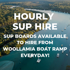 Hourly Stand Up Paddle Board Hire