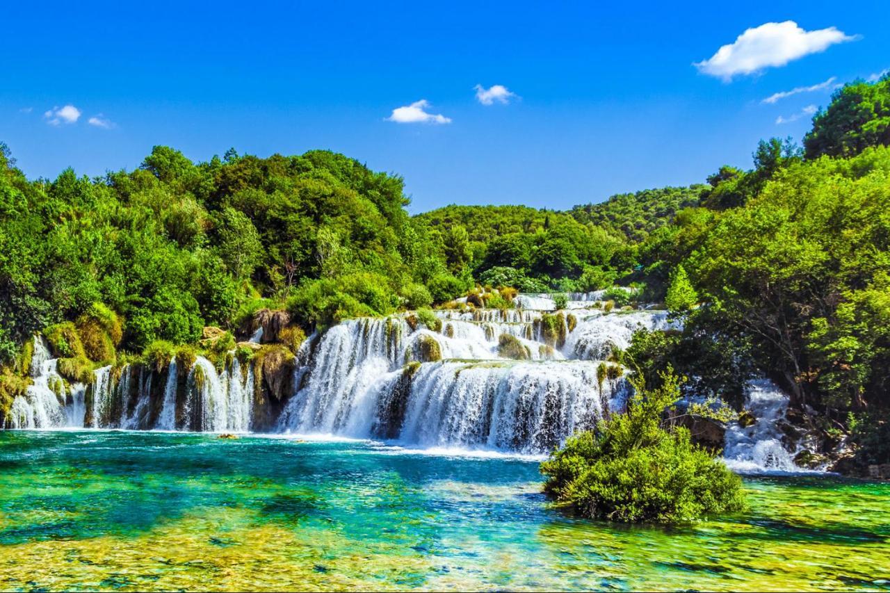 Krka National Park from Zadar Port
