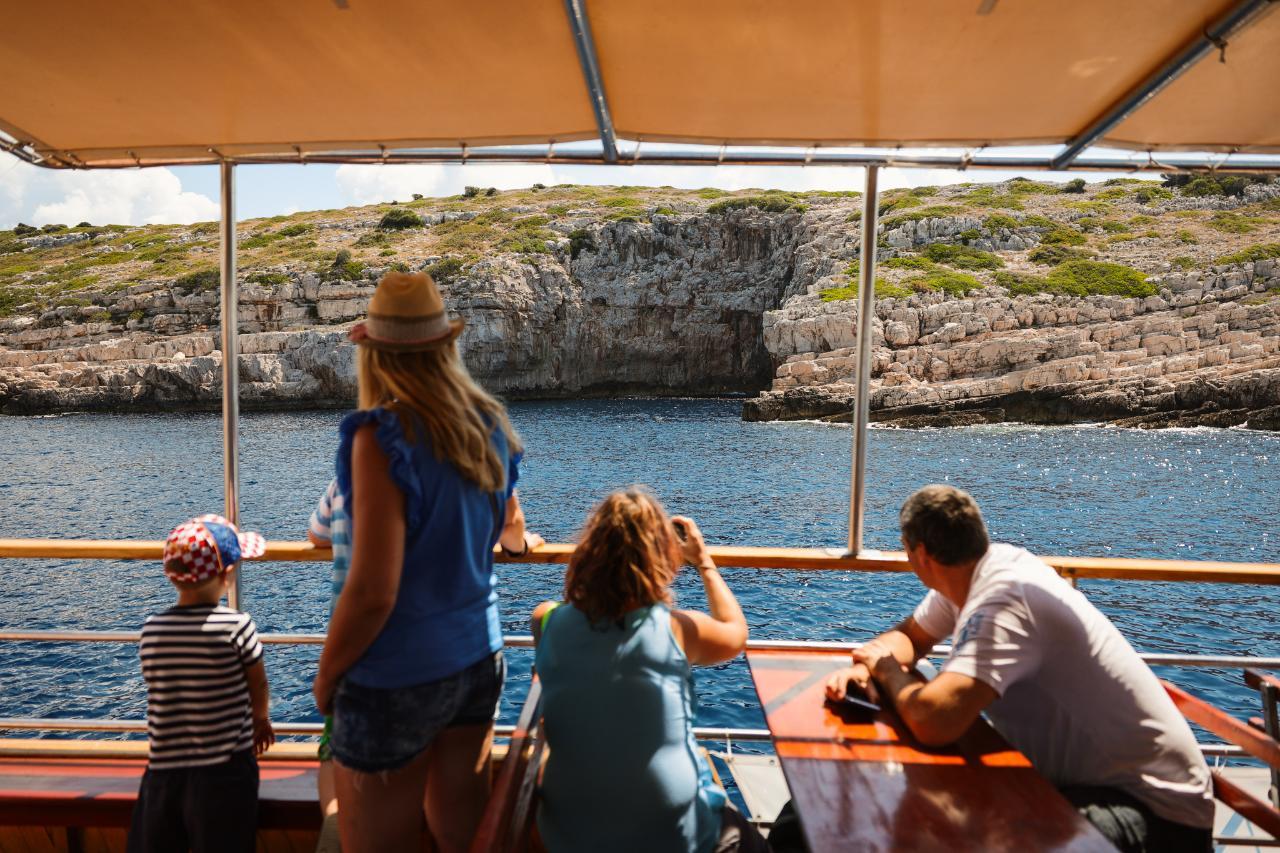 From Vir: Kornati National Park and Telascica Full-Day Boat Trip