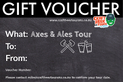 Axes and Ales Gift Voucher