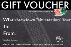 "Brewtown ""Ale-traction"" Tour Gift Voucher"