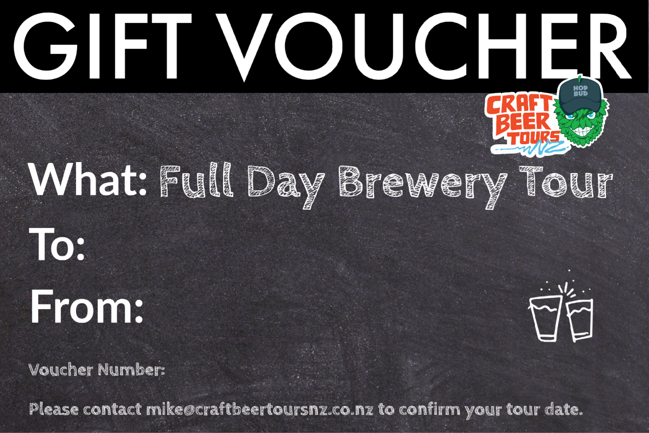 Full Day Brewery Tour Gift Voucher