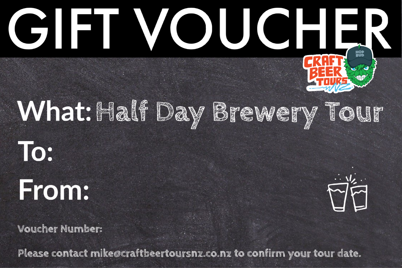 Half Day Brewery Tour Gift Voucher