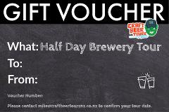 Half Day Brewery Tour Gift Voucher