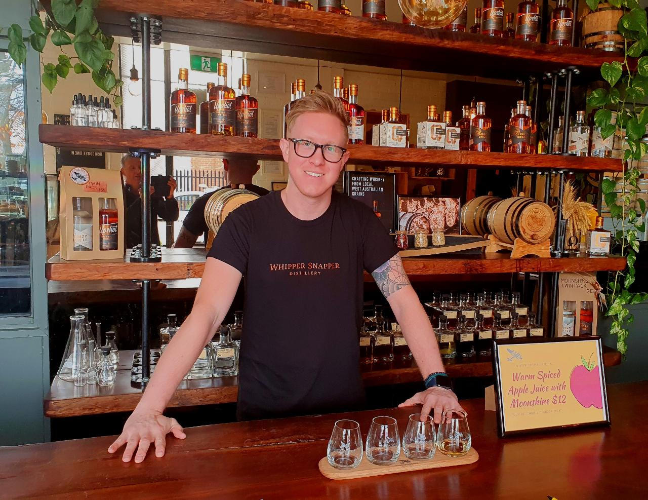 Whiskey and Wheels - Guided bike tour of Perth foreshores and a Whiskey Distillery