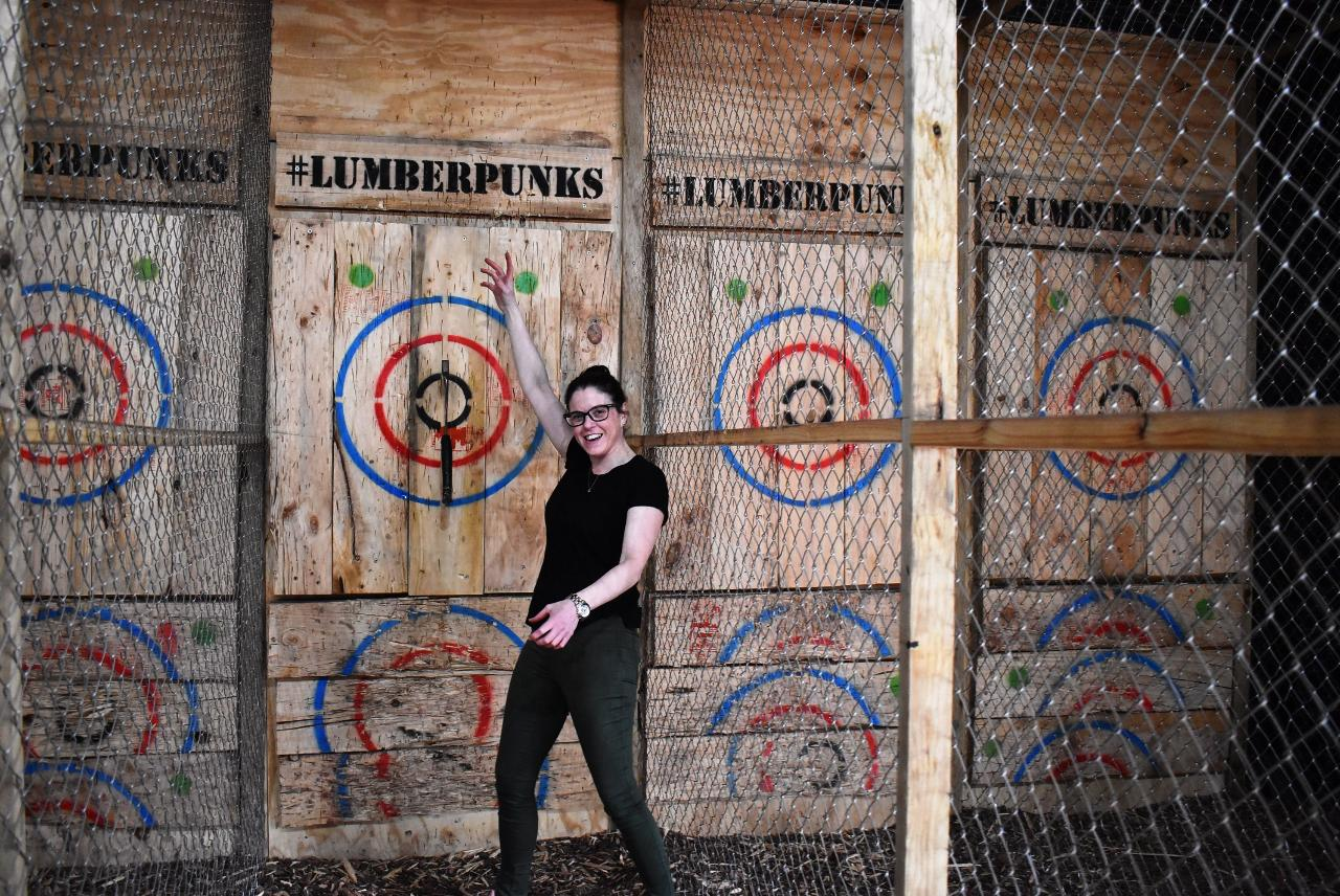 Axes and Wheels - Guided bike tour along the Swan with a visit to an Axe Throwing venue