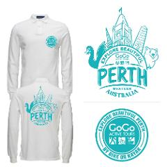 Explore Beautiful Perth -  long sleeve tee shirt