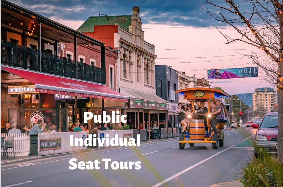 Public Individual Seat Tour- Adelaide CBD