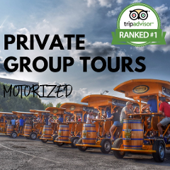 Private Group Tours (Up to 16 Passengers Per Bike)