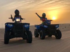 Relaxed Desert Escapade Quad Biking (4 hours)