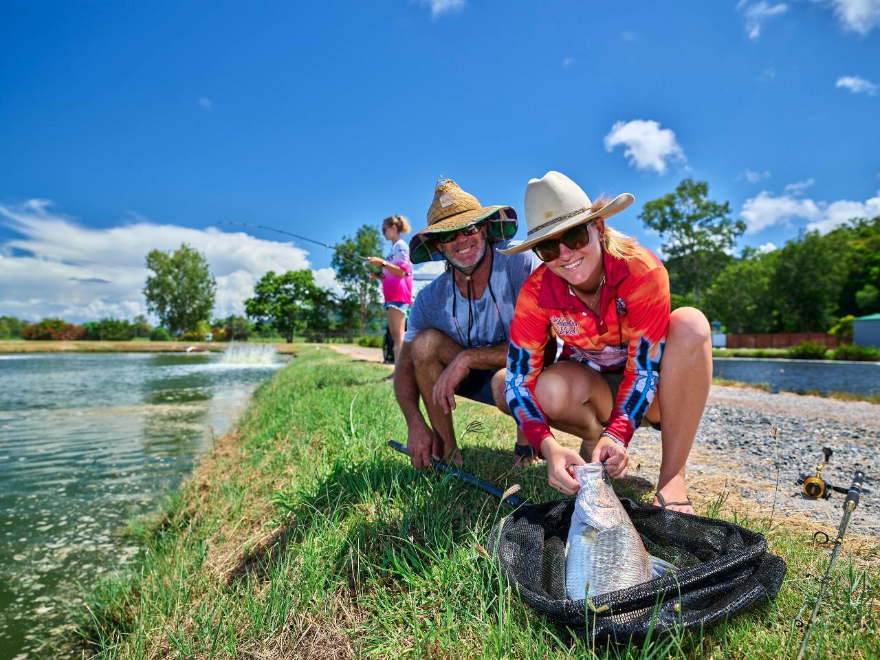Hook-a-Barra Fishing Experience