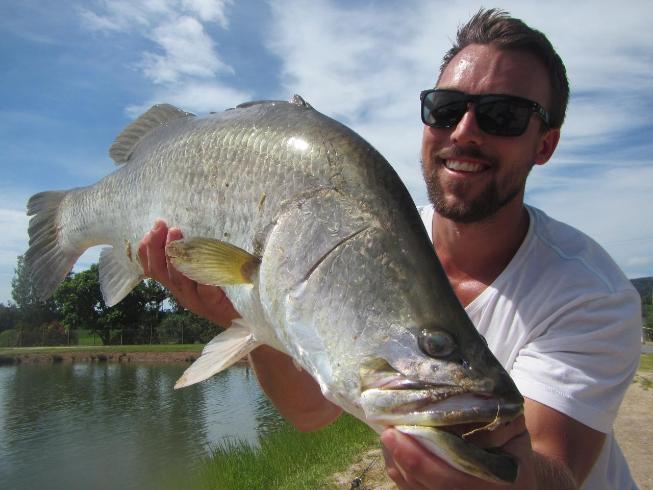Ultimate Hook-a-Barra Fishing and Farm Tour