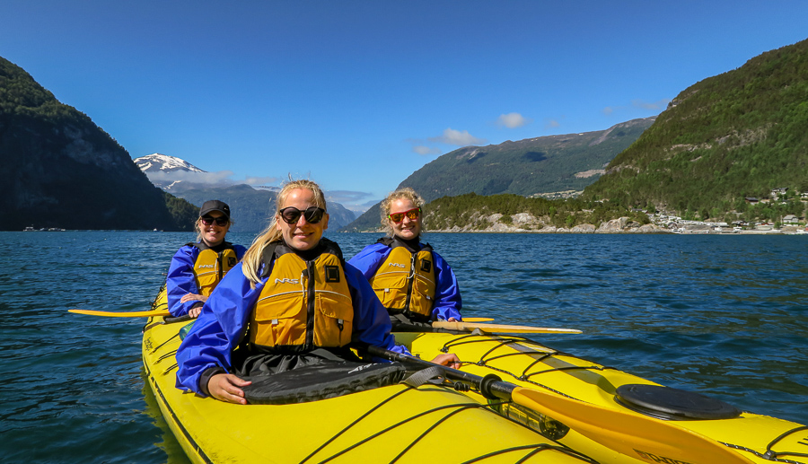 4 Days: Hike, Kayak and Wild Camp the Norwegian Fjords