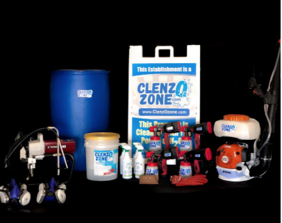 ClenzOzone Large Package Up to 10000 Square Feet