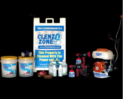 ClenzOzone Medium Package Up to 7500 Square Feet