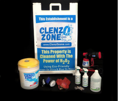 ClenzOzone Small Package Up to 2500 Square Feet