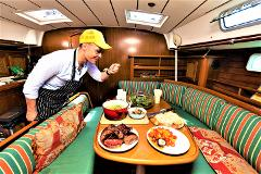 Sailing Bay of Islands Dinner Cruise - Gourmet 3 Course Mon, Wed, Sat 5-9pm