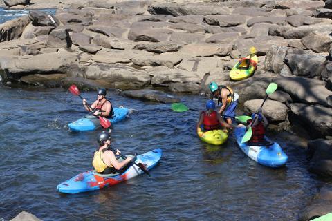 Group Kayak Instruction (Full Day)