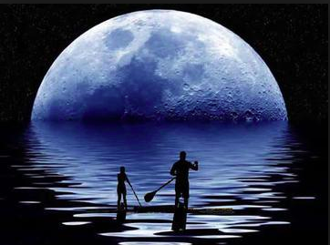 Moonlight Flat Water Paddle