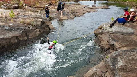 Swift Water Rescue Level 4 Course