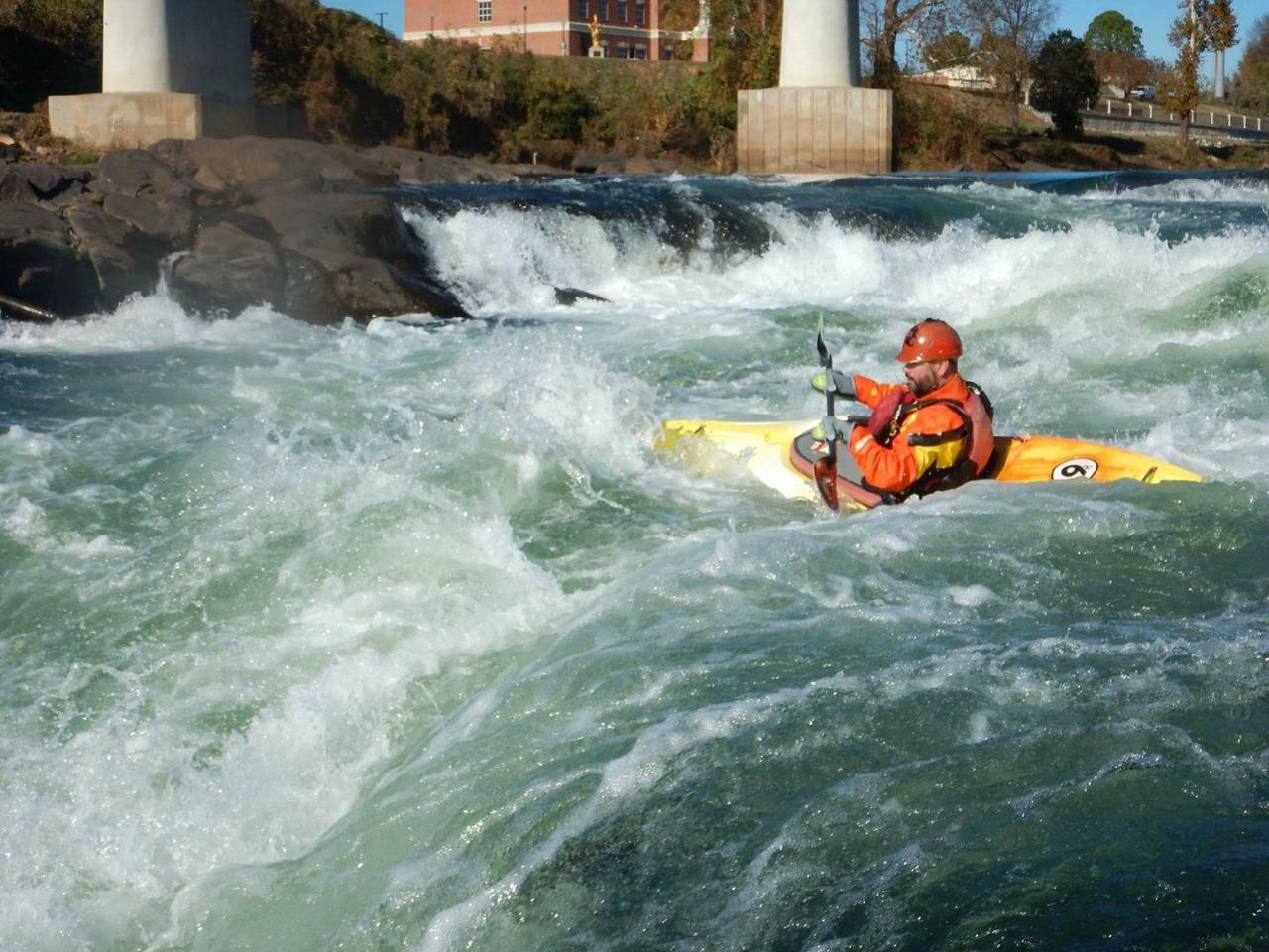 Whitewater Kayaking Wednesday