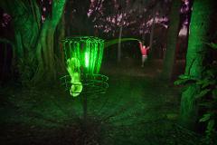 Glow Disc Golf