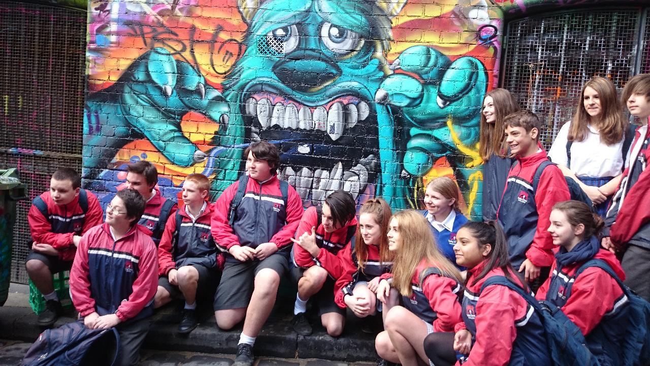 Student Group Walking Tour - Melbourne Lanes