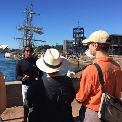 Gift voucher for Poihākena tours: stories of Māori in Sydney